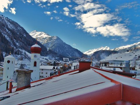 St. Anton am Arlberg during winter