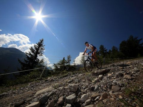 Thrilling downhill biking in St. Anton at the Arlberg