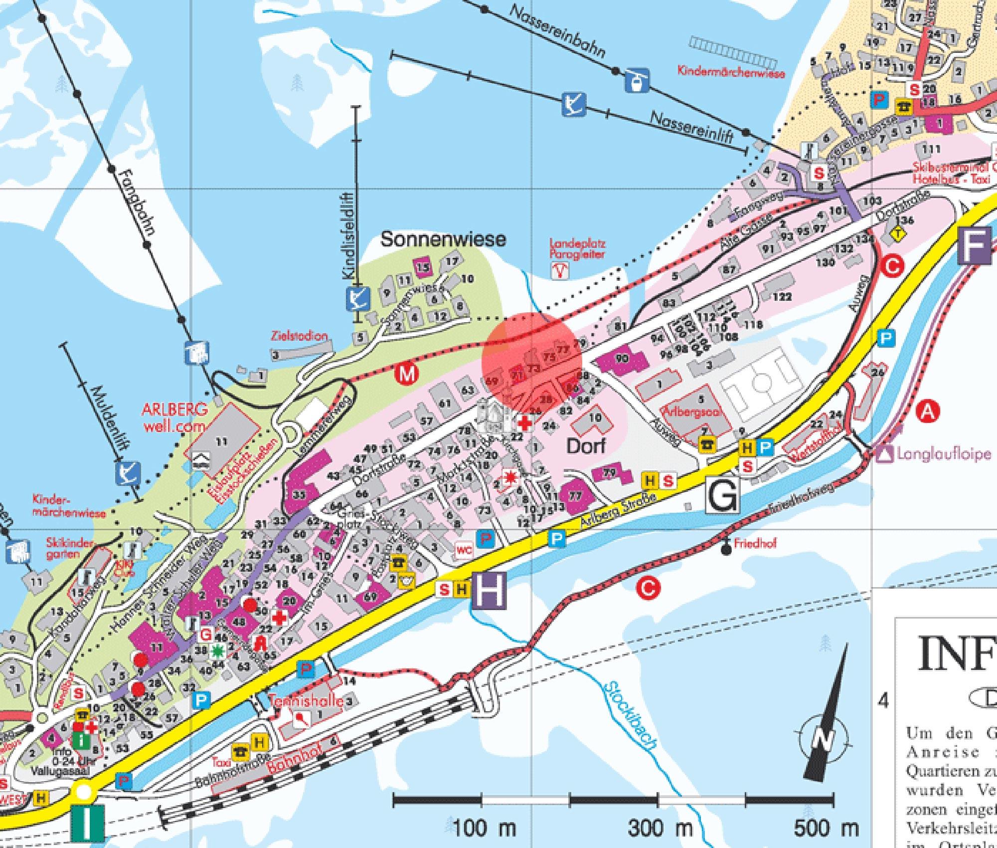 st anton town map pdf